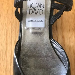 Joan & David Shoes - Joan & David patent shoes. Handmade in Italy